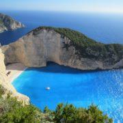 Strandbucht Griechenland