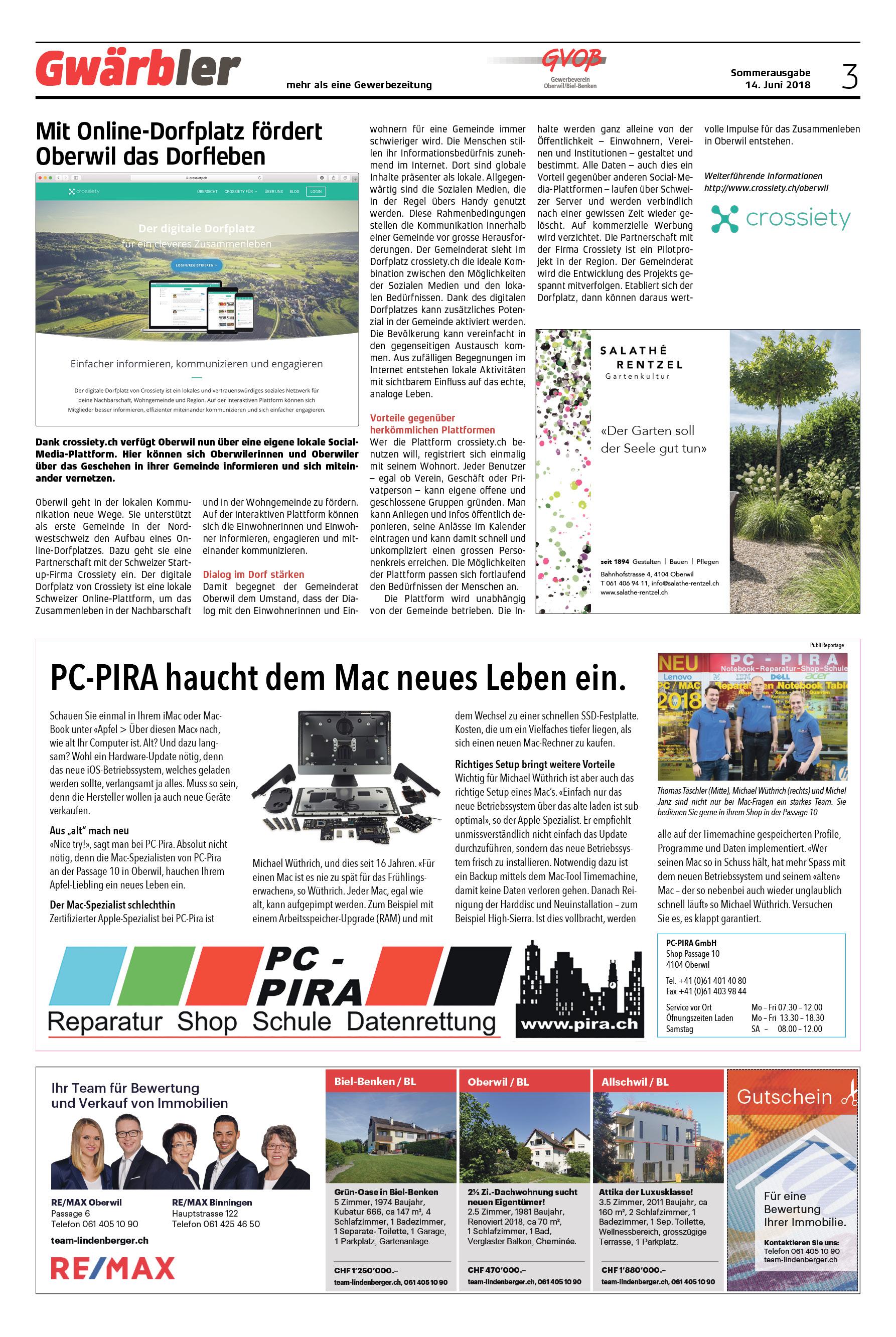 Gwärbler Ausgabe 1-18, Seite 3
